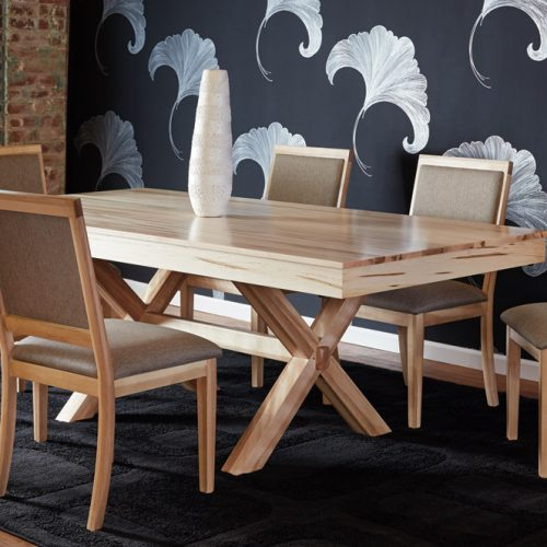 Maple Wood Dining Table CLF BERM