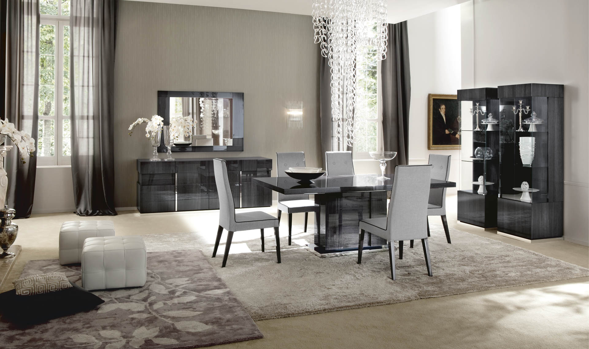 Montecarlo Dining Table Clf Alf Cozy Living Furniture Mississauga